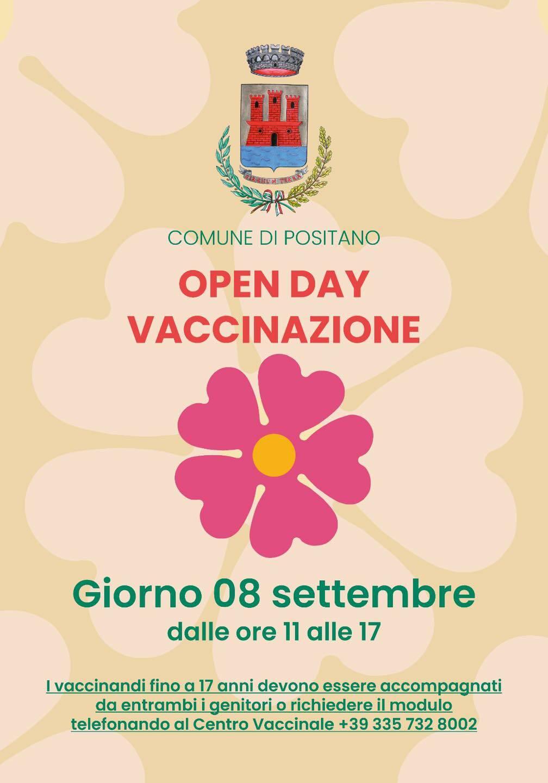 Positano: mercoledì il nuovo Open Day vaccinale senza prenotazione