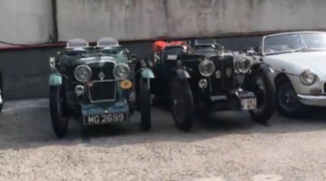 Positano: oggi il raduno delle auto d'epoca