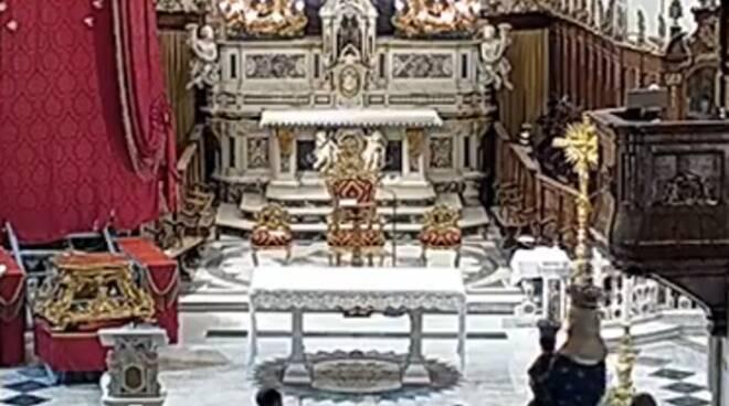 """Positano: oggi le Prime Comunioni, per l'occasione """"esce"""" la Madonna"""