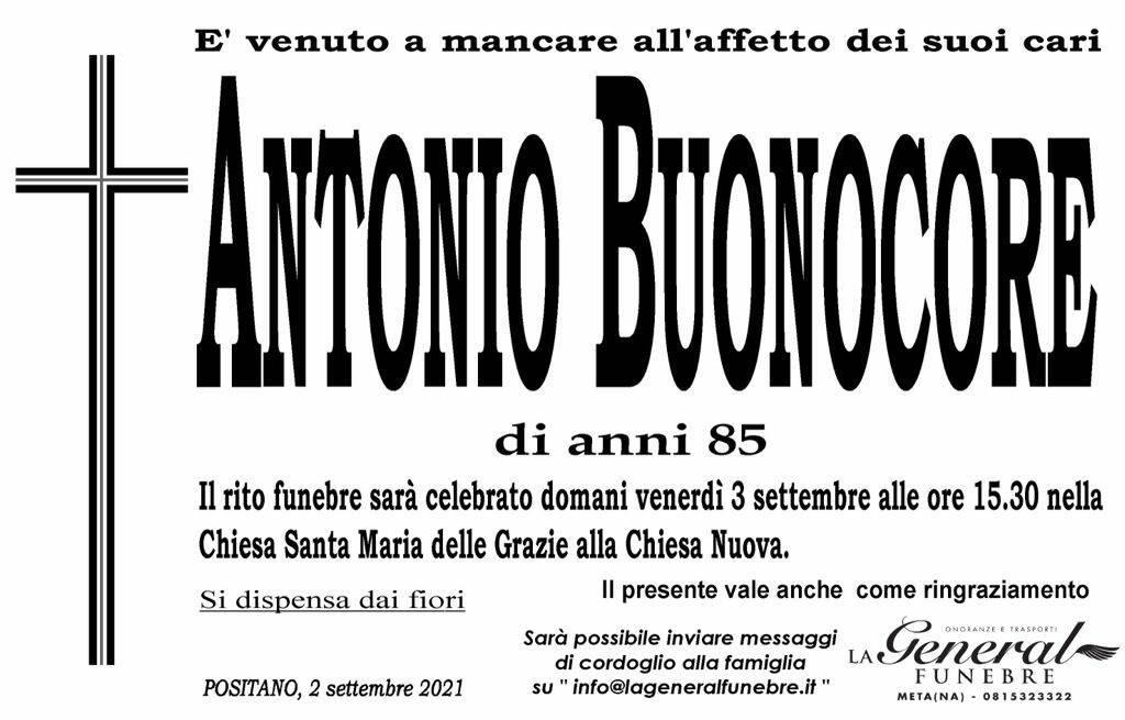 Positano piange la scomparsa di Antonio Buonocore