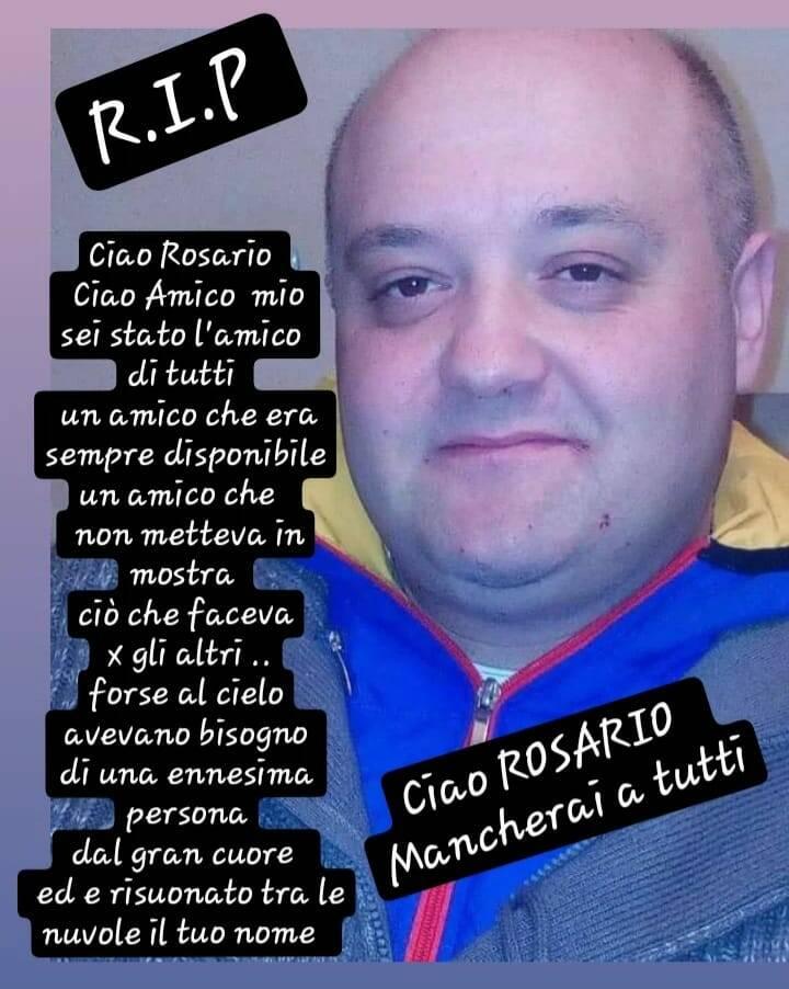 Rosario Apuzzo cordoglio
