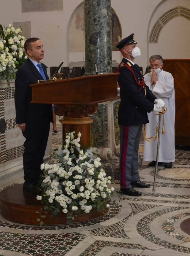 Salerno: celebrazione festività di  San Michele Arcangelo, Patrono della Polizia di Stato