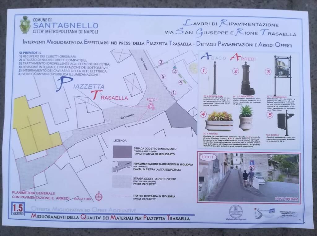 Sant'Agnello: da lunedì il via ai lavori di rifacimento del manto stradale in varie zone del paese. Ecco dove