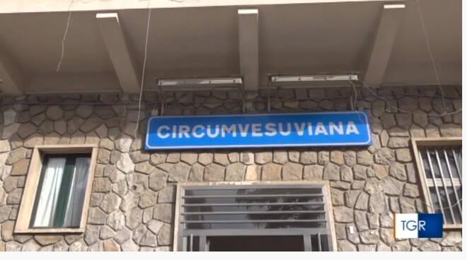 Sant'Agnello, il servizio di TGR sui lavori di ristrutturazione della Stazione della Circumvesuviana