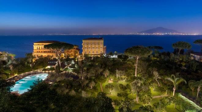 Sorrento, il Grand Hotel Excelsior Vittoria ancora tra i migliori del mondo