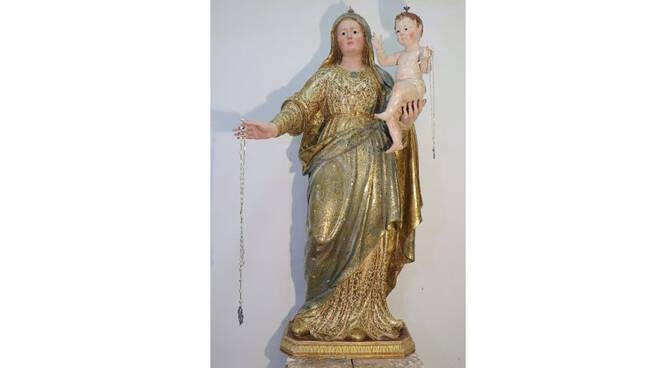 Sorrento, venerdì 1° ottobre il rientro della statua della Madonna del Rosario nella Chiesa dei Santi Felice e Bacolo