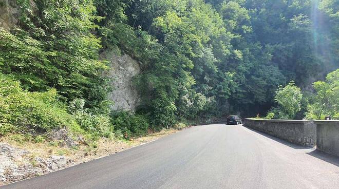 Terminati i lavori, il Valico di Chiunzi riapre al transito veicolare