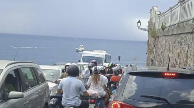 Traffico lungo la SS.163 - le precisazioni del Comune di Ravello