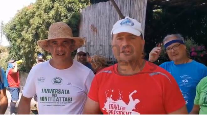 Traversata dei Monti Lattari di un gruppo di escursionisti partiti da Cava de' Tirreni, in tre giorni hanno raggiunto Termini