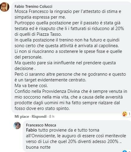 Trenino Sorrento post di Colucci
