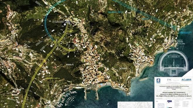 """""""Variante di Amalfi - Atrani"""" alla SS163"""