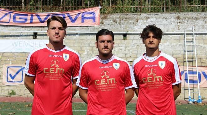 Vincenzo Imbimbo, Francesco Cassitto e Andrea Esposito.