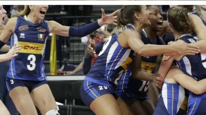 Volley femminile campione d'Europa