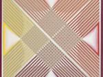2 - Enzo Tardia - Scritture asemiche - 2020 -  Acrilico e olio su tela cm. 60 x 60