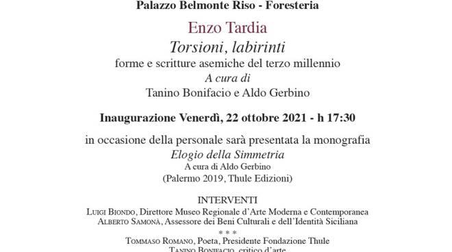 3 - Locandina  - Palermo - Enzo Tardia