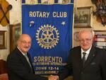 """A Massa Lubrense l'incontro sui """"Nuovi equilibri geopolitici mondiali"""" organizzato dal Rotary Club Sorrento"""
