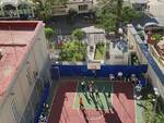 Amalfi, l'ex campetto torna a vivere: sarà il luogo in cui faranno sport gli studenti del Marini-Gioia