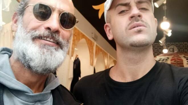 Amalfi, Raz Degan fa una sosta alla JP Boutique