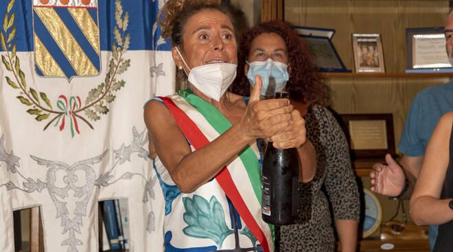 Anna Maria Caso Sindaco di Praiano