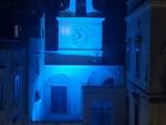 Atrani ha aderito alla campagna per la dislessia: la chiesa del Salvatore tinta di blu