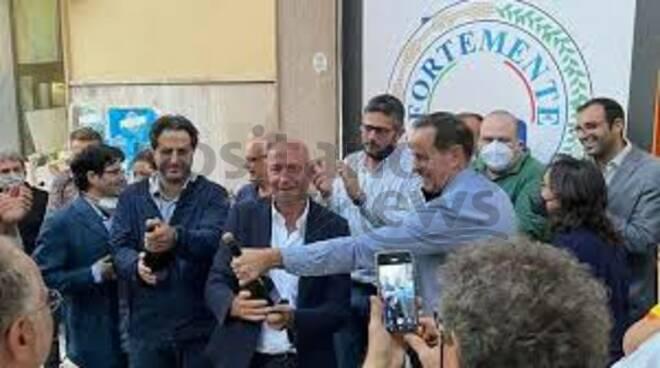 Cappiello festeggiamenti sindaco Piano di Sorrento