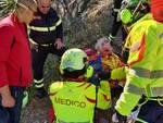 Capri: intervento del Soccorso Alpino e Speleologico per aiutare una donna ferita lungo il Sentiero Dente Cala