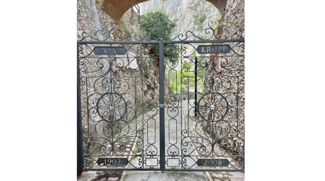 Capri, Via Krupp chiusa da anni tra l'indifferenza generale