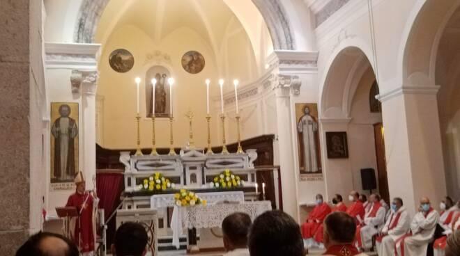 Diocesi di Teggiano-Policastro, Sinodo 2021-2023 per una chiesa sinodale: oggi alla Celebrazione Eucaristica dal Vescovo per l'apertura del percorso sinodale.
