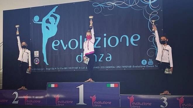 Ginnastica Ritmica, Torre del Greco vince nelle Allieve 3 con Sarah Izzo della Veseva