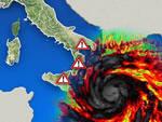 Da lunedì un Uragano Mediterraneo sconvolgerà l'Italia ed interesserà anche parte della Campania