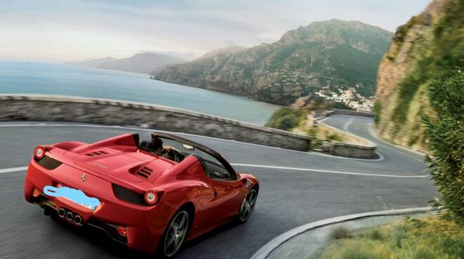 Ferrari a Positano