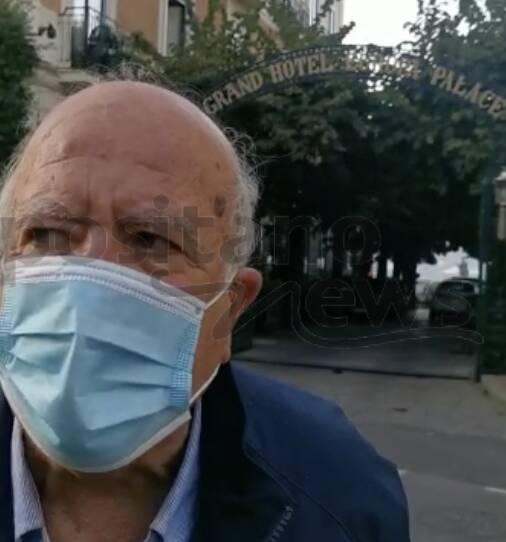 g20 sorrento protesta giornalisti