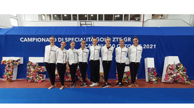 Grande successo per le giovani atlete della Ginnastica Sorrento nella gara di Catania