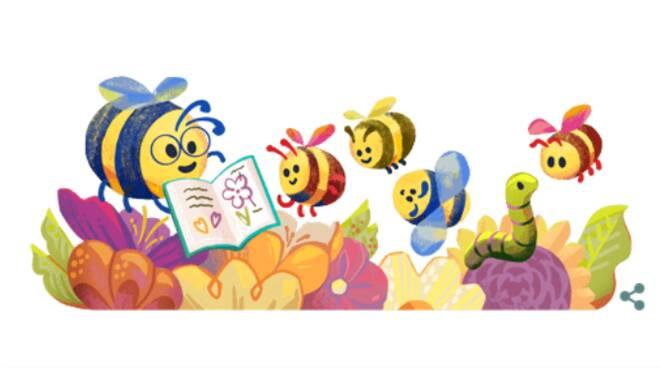 Il Doodle di Google di oggi celebra la festa degli insegnanti