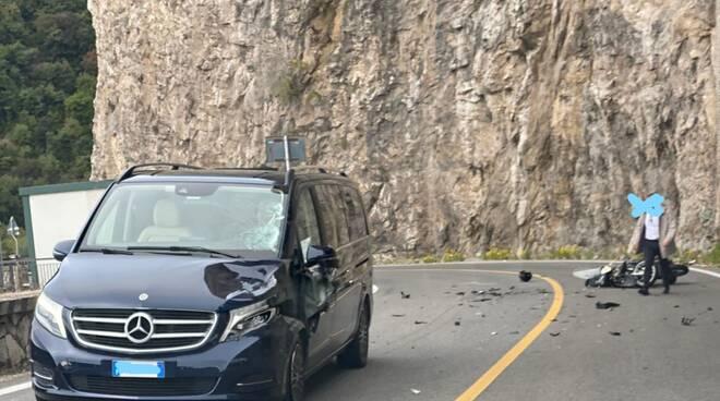 Incidente a Positano morta una ragazza