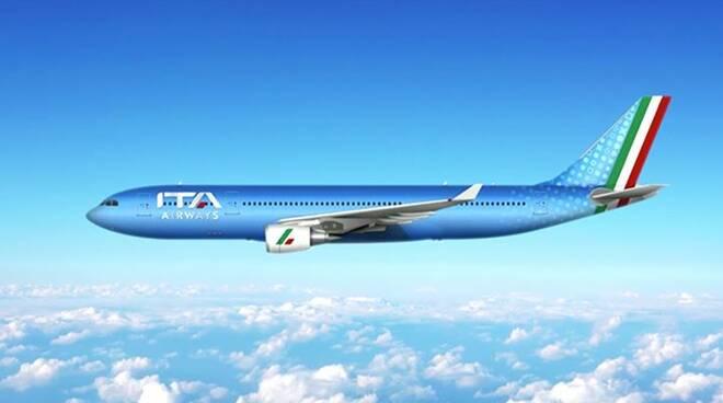 Ita Airways sarà azzurra: raccoglie l'eredità ed il logo tricolore di Alitalia
