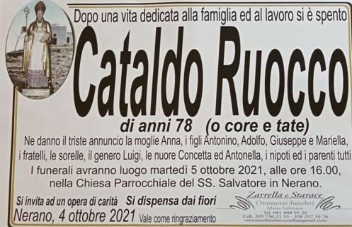 Massa Lubrense, la frazione di Nerano in lutto per il 78enne Cataldo Ruocco (o core e tate)