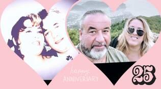 Meta, Alberi: Gaetano e Lucia festeggiano i loro 25 anni di matrimonio