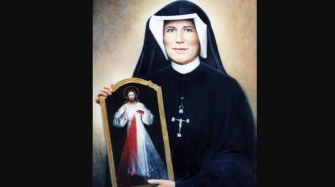 Oggi la Chiesa festeggia Santa Maria Faustina Kowalska