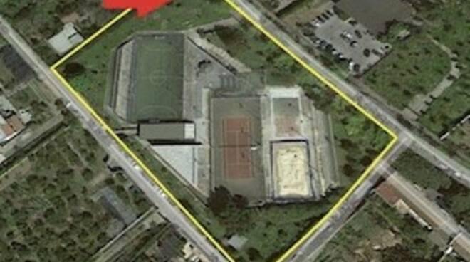 Piano di Sorrento: cemento al posto nel prato nel parco giochi, la denuncia del WWF