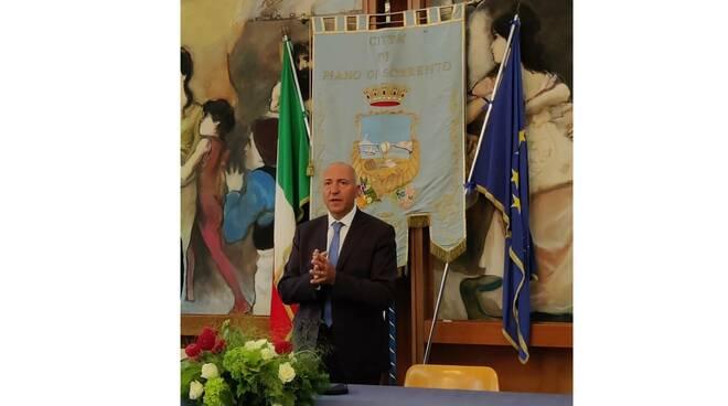 Piano di Sorrento, il neosindaco Salvatore Cappiello ringrazia la cittadinanza e ricorda Giancarlo d'Esposito