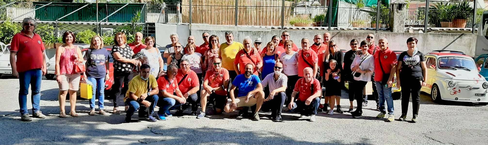 Positano club 500 con Campobasso