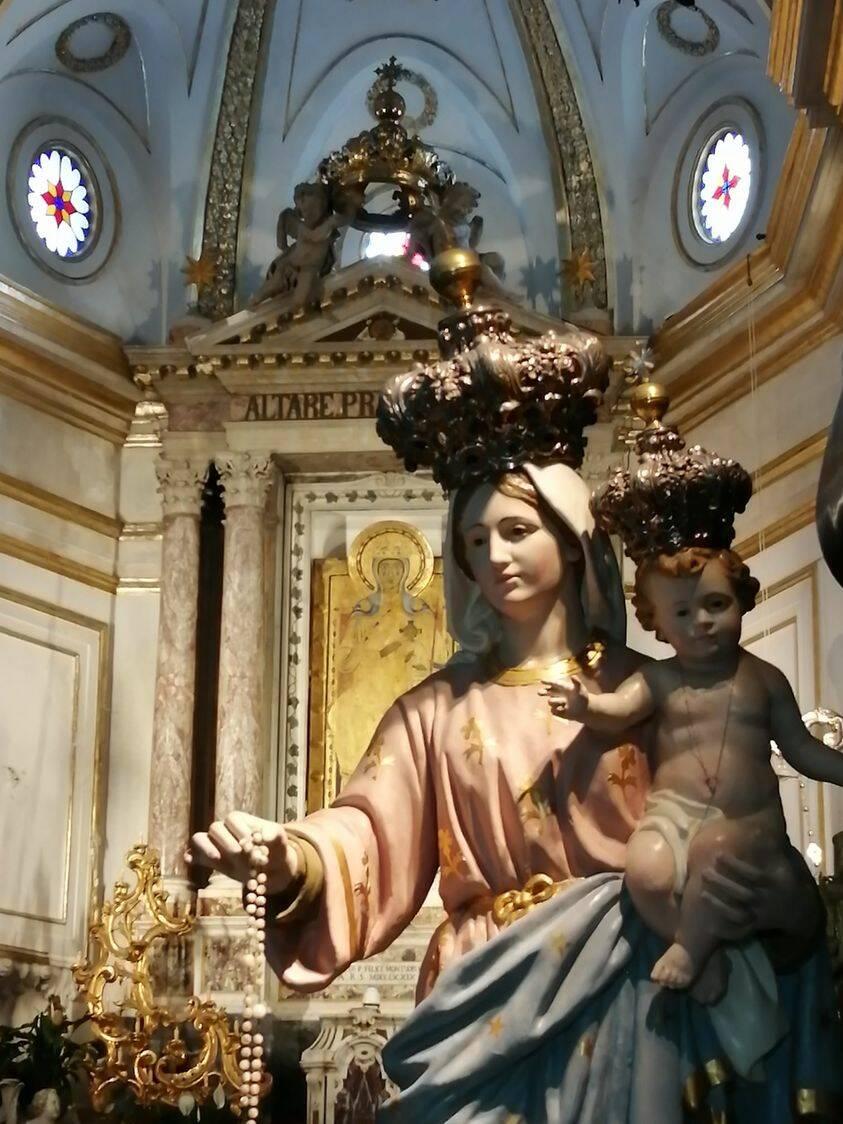 Positano: per il mese di ottobre S. Messa nei giorni feriali nella Chiesa del S. Rosario ai Mulini
