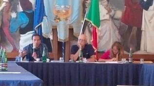 Ruggiero con Debora De Riso