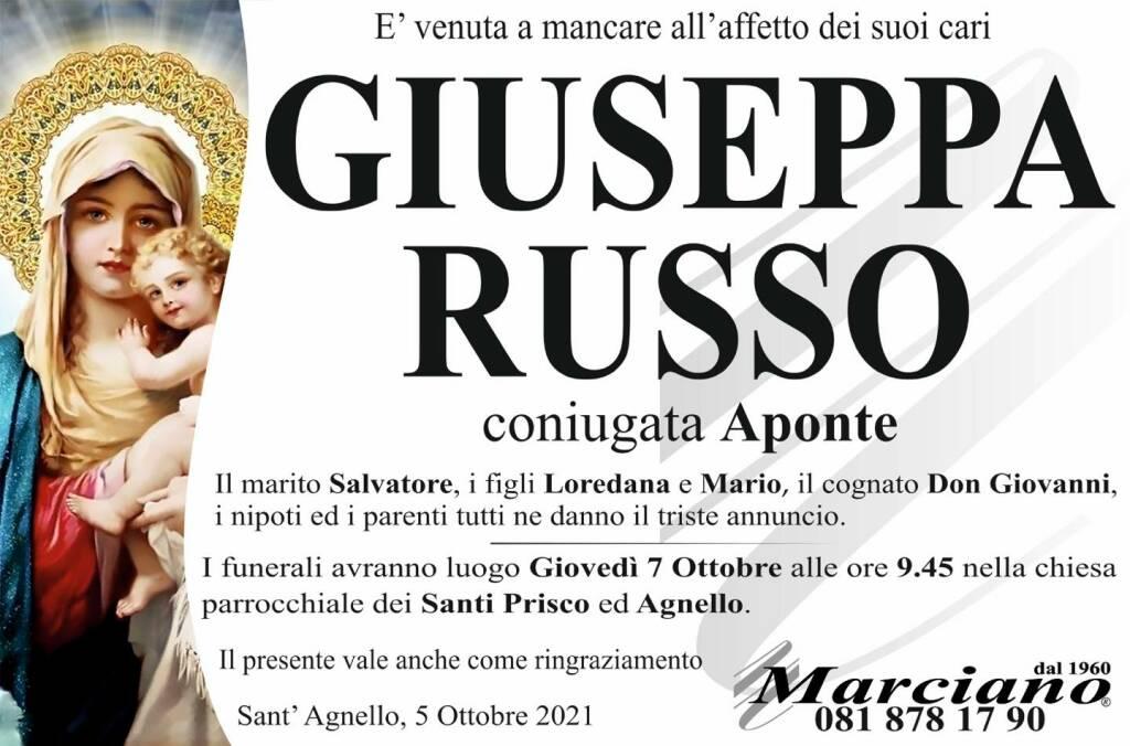 Sant'Agnello piange la scomparsa di Giuseppa Russo