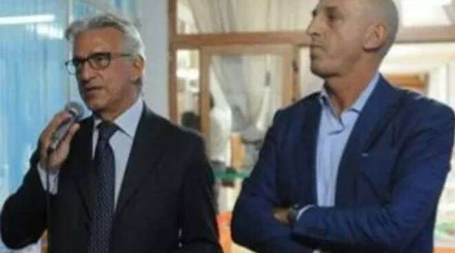 Savastano con il sindaco di Salerno