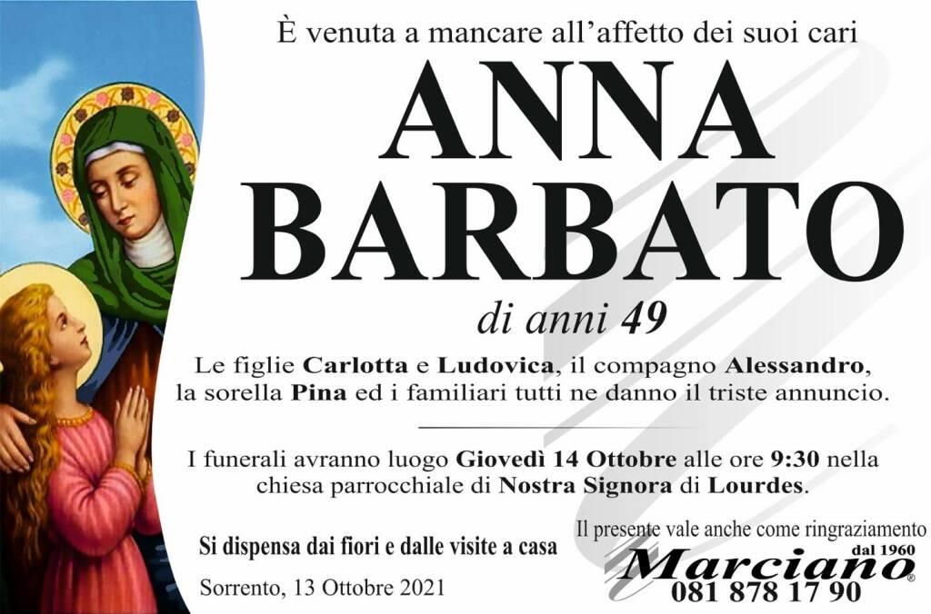 Sorrento, a soli 49 anni ci lascia Anna Barbato