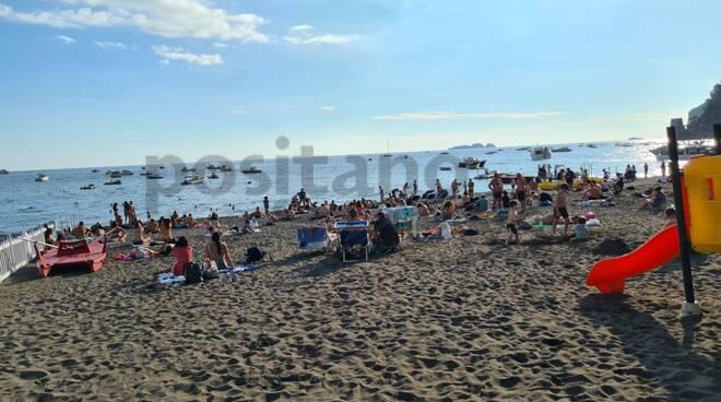 spiaggia ottobre positano