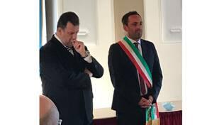 """Vico Equense, insediamento del sindaco Peppe Aiello: """"Prometto di amare e servire la mia città"""""""
