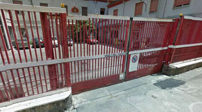 Vigili del Fuoco a Castellammare